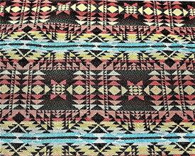 Luna Corazon ハンドメイド ジャガード織り ネイティブ柄 カット生地 手作り DIY 幅 150cm C柄(C柄 50cm)