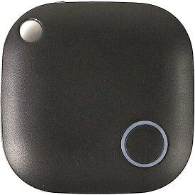 スマートタグ キーファインダー 探し物発見器 忘れ物防止 落し物 スマホ k-001 MDM(ブラック)