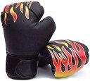 ボクシング グローブ 子供 用 親子 で 特訓 通気性 抜群 格闘技 BEATON JAPA(グローブブラック)
