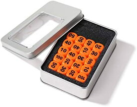 ポケモンカード ダメカン ダイス 14mm 20個 セット ポケカ ダメージカウンター 収納ケース & 収納袋 付き MDM