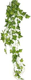 観葉植物 壁掛け インテリア アンティーク 雑貨 造花 人工 フェイク グリーン 緑 吊り(1本)