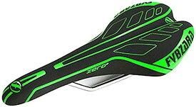 morytrade サドル 自転車 ロード MTB ピスト シクロクロス トラック バイク 軽量 レース(グリーン)