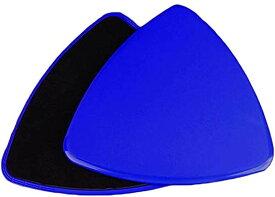 グライディングディスク 体幹トレーニング コアスライダー スライドディスク 薄型(ブルー, 18.8*18.8*18.8cm)