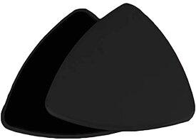 グライディングディスク 体幹トレーニング コアスライダー スライドディスク 薄型(ブラック, 18.8*18.8*18.8cm)