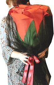 大きい バラ 造花 サプライズ プレゼント 誕生日 結婚記念日 プロポーズ フラワーギフト[PO1020](赤)