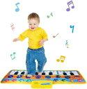 ピアノ おもちゃ プレイマット 音楽マット ミュージックマット 鍵盤 玩具 演奏マット キーボード 楽器