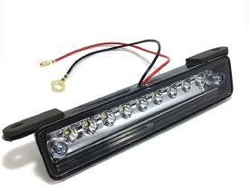 スズキ 用 9連 LED ライセンス ランプ ナンバー 灯 ユニット ホワイト ライト ジムニー JA11 JA12 JB23 等 移動用 カスタム テール リア パーツ 社外品