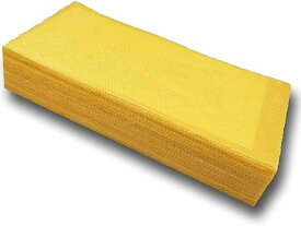蜜蜂 ミツバチ用 飼育 シート 30枚 セット 巣礎 養蜂 蜂の巣 ハニカム 蜜蝋 採蜜(黄金色, M)