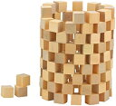 木製 積み木 キューブ ブロック天然 原木 無着色 子供 算数 体積 図形問題 知育 小学生 つみき 100個セット
