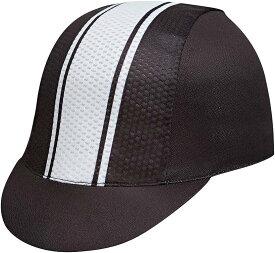 メンズ サイクルキャップ インナーキャップ 自転車 帽子 通気 折り畳み ホワイト(ホワイト2)