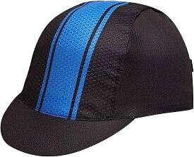 メンズ サイクルキャップ インナーキャップ 自転車 帽子 通気 折り畳み(ブルー)