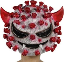 ハロウィン コスプレ ウイルス マスク ホラー フェイスマスク お面 仮装