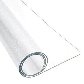 冷蔵庫 マット 床保護シート キズ防止 凹み防止 Mサイズ 65x70cm 〜500Lクラス 半透明 フローリング/畳/床暖房対応 傷つけない 汚れ防止 環境に優しい 保護カバー(透明, 65x70x0.2cm)
