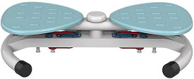 ねじり運動 腰を捻るマシン ウエストエクササイズ ステッパー 静音エクササイズ 腹筋マシーン 筋トレ ダイエット器具 トレーニング 省スペース MDM(青)