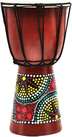 ジャンベ アフリカン ドラム 民族 楽器 打楽器 パーカッション ランダム 約14cm(ランダム 約14cm)