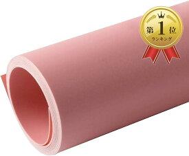 商品撮影用背景紙 PVCペーパー バックシート 7色 70x140cm(ピンク, 70x140cm)