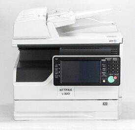 【現行機】■NTT L-320 1段カセット (OPのB4対応用紙カセット希望はご相談下さい)A4モノクロ複合機/ファクス【中古】