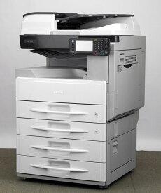 リコー 白黒コピー機/複合機【中古】RICOH MP 1601 SPF (A3カラースキャナー コピー・ファックス・ネットワークプリンター・ネットワークスキャナー 最新 幅を取らない PDF作成可 低カウンタ) 保証 残少 お得 両面印刷