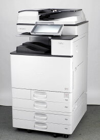 【消費税率10%変更済】リコー A3 フルカラーコピー機/複合機【低カウンタ】RICOH MP C2504 SPF(PDF作成可 電子化・販促時短 業務用 オフィス向け ) 【中古】 インナートレイ 両面印刷