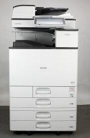 リコー A3 フルカラーコピー機/複合機 RICOH MP C3004 SPF(PDF作成可 電子化・販促時短 業務用 ) セキュリティ【中古】