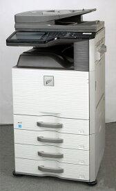 シャープ/SHARP A3カラーコピー機(複合機) MX-2517FN(コピー、FAX、プリンター、カラースキャナー機能搭載)【低カウンタ】【中古】