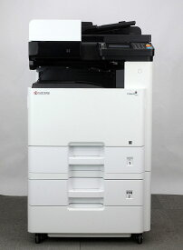 京セラ TASKalfa 2460ci A3カラーコピー機/複合機【中古】(PDF作成可 電子化時短 業務用 コピー機 a3/複合機 a3 オフィス向け)安心 保証 残少 両面印刷 カラースキャナー