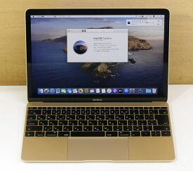 apple MacBook (Retina, 12インチ, 2017)Color:Gold【Corei7(1.4GHz)/16GB/500GB】【中古】【送料無料】