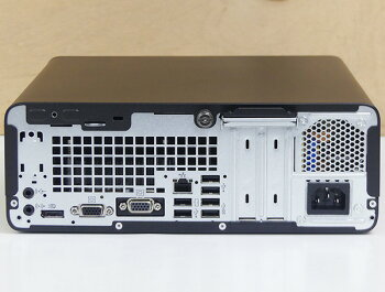 HPデスクトップパソコンProDesk600G3SFF(Corei5-9500メモリ8GBSSD128GB外付DVDドライブ付き!)Windows10インストール済み【送料無料】【中古パソコン】【MSOffice無し】