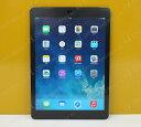 Apple AU ipad Air Wi-Fi CellulariOS 7.1.2(11D257)16GB【MD791JA/A】Model A1475 スペースグレイ【中古】【送料無料】