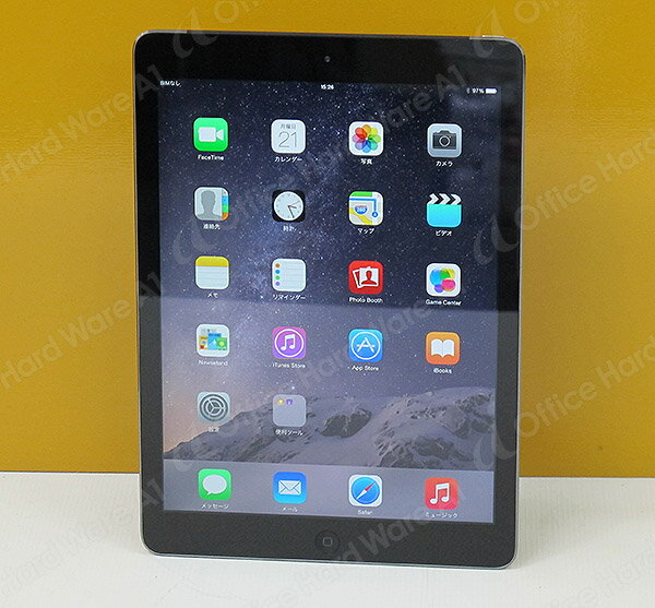 Apple AU ipad Air 本体 Wi-Fi CellulariOS 8.1.3(12B466)16GB【MD791JA/A】Model A1475 スペースグレイ【中古】【送料無料】