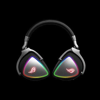 【没入感抜群のゲーミングヘッドセット】ASUSROGDELTA(ヘッドセットハイレぞ音源対応有線両耳周辺機器メーカー保証付き)【新品】【正規販売代理店】