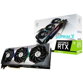 MSI GeForce RTX 3080 Ti SUPRIM X 12G(12GB GDDR6X PCパーツ グラフィックボード 保証付き 代引き不可)【新品】★