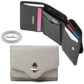 Hashibami(ハシバミ) Hashibami New Jean Mini Wallet [ニュー ジーン ミニウォレット] 財布 レディース 小銭入れ カード 本革 レザー ギフト プレゼント おしゃれ かわいい【送料無料】