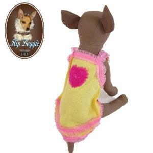 HIP DOGGIE(ヒップドギー) Strowberry Bubblegum Tank(ストロベリーバブルガムタンク)タンクトップ 犬服 ドッグウェア 小型犬用品 子犬 おしゃれ ペット チワワ トイプー ヨーキー