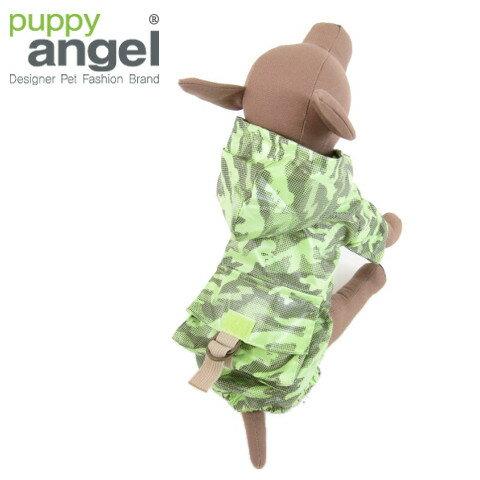 Puppy Angel(パピーエンジェル)Combat Camo Rain Coat(コンバットカモレインコート)【送料無料】犬服/ドッグウェア/小型犬用品/子犬/おしゃれ/ペット/チワワ/トイプー/ヨーキー 02P03Dec16
