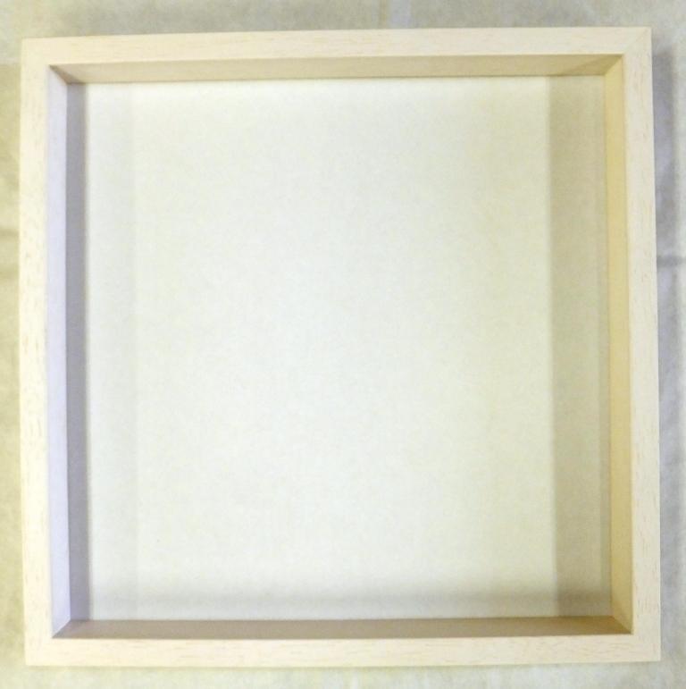 スクウェア額縁 マルチボックスフレーム(5881) ホワイト 300角