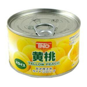 【送料無料】谷尾食糧 TNO 黄桃スライス F2号缶 225g(24缶入×1ケース)【賞味期限:2022.09.13】