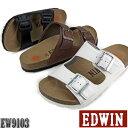 エドウィン サンダル edwin サンダル メンズ EDWIN E カジュアルサンダル 靴 男性用 【EW9103】