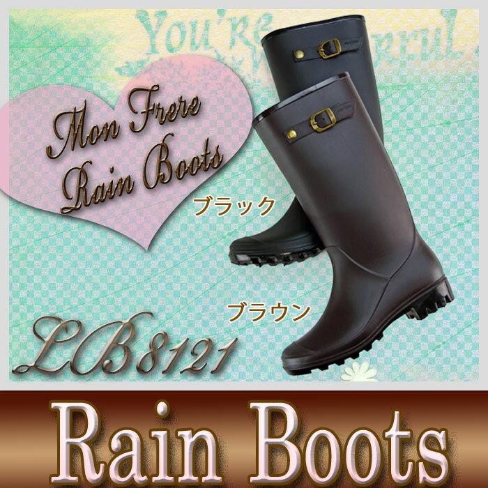 【送料無料】レインブーツ レディース レディースレイン レインブーツ 軽量 オシャレ 雨 雪 長靴 【LB8121】