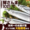 【季節限定】 極上鮮さんま 10本(1尾130g前後) | さんま サンマ 秋刀魚 国産 岩手 ...