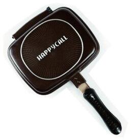送料無料 HAPPY CALL ホットクッカーグルメパン ミニ 調理器具フライパン パルチパン 両面焼き 韓国