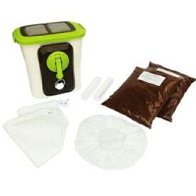 送料無料 生ゴミ処理機 自然にカエルS 基本セット SKS-101型 家庭用 生ごみ処理機 自然にカエル