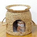 送料無料 ちぐら セパレート 猫ちぐら ベッド付 猫 ハウス