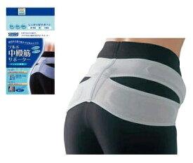 ソルボ サポーター 中殿筋サポーター メッシュ薄型 腰痛コルセット 腰痛ベルト 腰痛サポーター