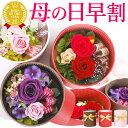 母の日ギフト2018 花 プリザーブドフラワー [セルクル] 花とスイーツセット お菓子 AB