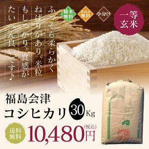 福島会津コシヒカリ30kg