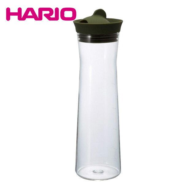 ハリオ HARIO ウォータージャグ 1000ml (オリーブグリーン) WJ-10-OG 日本製