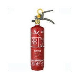 【リサイクルシール付】住宅用消火器 モリタ「キッチンアイ」(ルビーレッド) HKE-1(R)