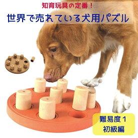 [今だけ10%オフ!] 犬のパズル [難易度1] おもちゃ 犬用 知育玩具 知育トイ えさ 餌 ノーズワーク 餌入れ Nina Ottoson (ニーナオットソン) Dog Smart ドッグスマート 小型犬 大型犬 中型犬 アウトワードハウンド