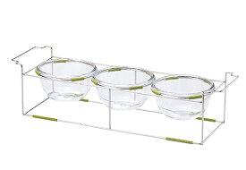 ワイヤースタンドセットwithボール18cm(ガラス)